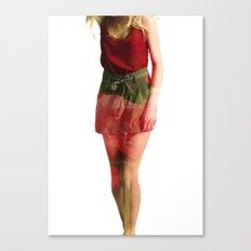 Ruby Love Canvas Print