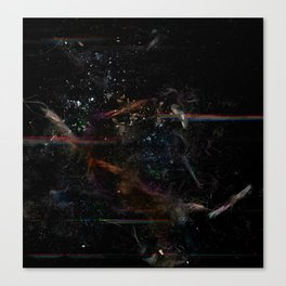 Quantum Fire Canvas Print
