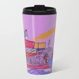 Lighthouse Warning Travel Mug