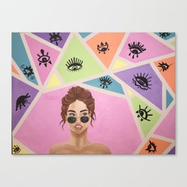 As If Canvas Print