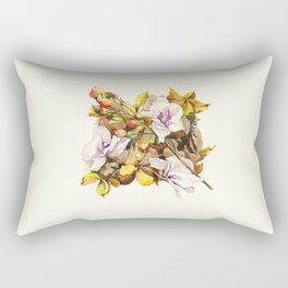 Fallen Petals Rectangular Pillow