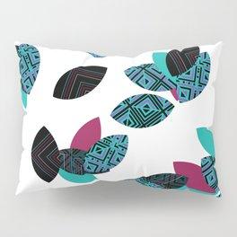 Aztec leafs Ioo Pillow Sham