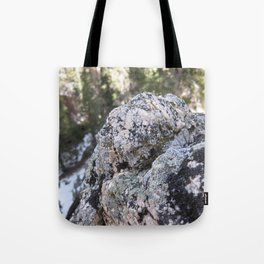 Crystalline Moss Tote Bag