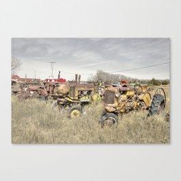 Heritage Tractors  Canvas Print