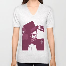 Mr. Robert Downey Jr. Unisex V-Neck