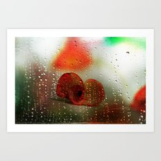 Rain, Rain, Rain, please go away! Art Print
