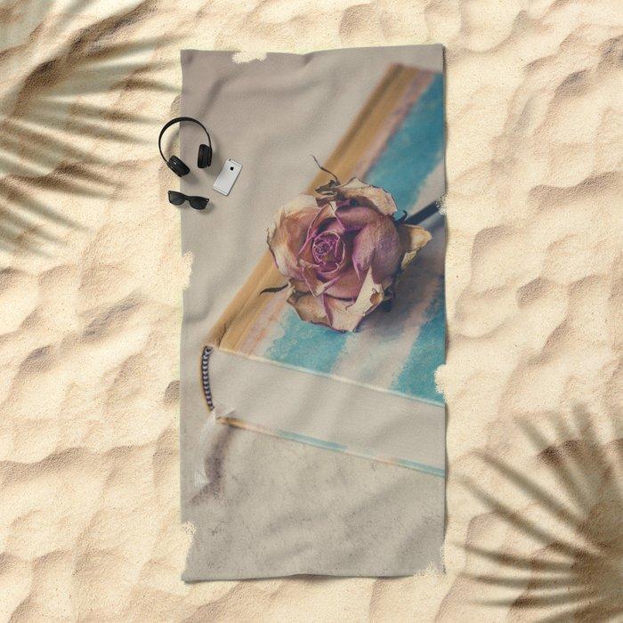 The Book Of Love III Beach Towel