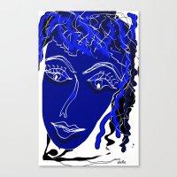 friendship Canvas Prints featuring friendship by sladja
