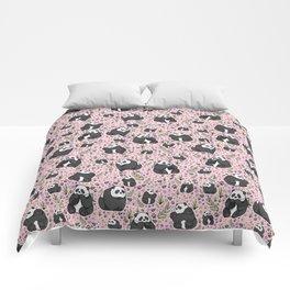 Pretty Panda Pattern Comforters
