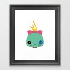 Scrump Framed Art Print