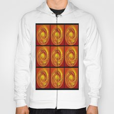Abstract Collage Orange Art. Hoody