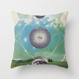 UNIVERSOS PARALELOS 006 Throw Pillow