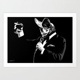 Bat Crooner Art Print