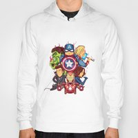 avenger Hoodies featuring The Avenger by rendhy wahyu