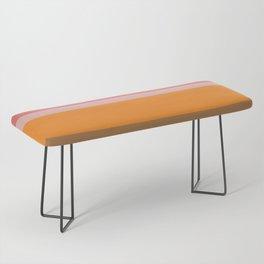 Color Stripes Bench