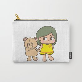 I'm here Carry-All Pouch