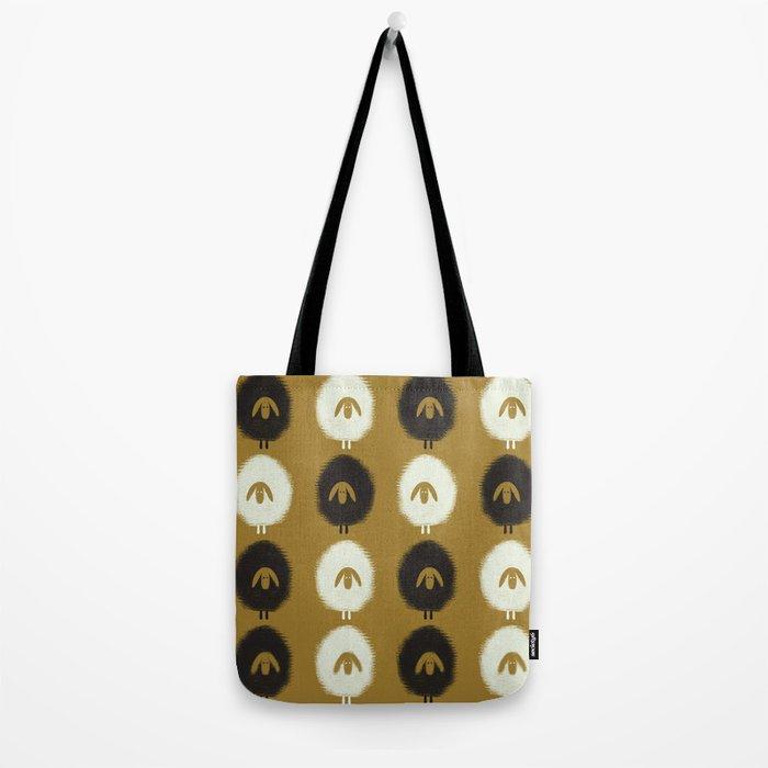 Sheep ochre Tote Bag