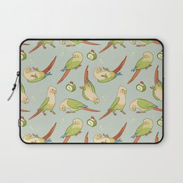 Green cheek conures all-over Laptop Sleeve