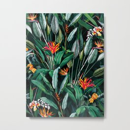 Midnight Garden V Metal Print