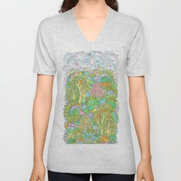Middle of the forest Unisex V-Neck