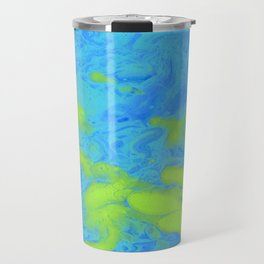 Paint Pouring 33 Travel Mug