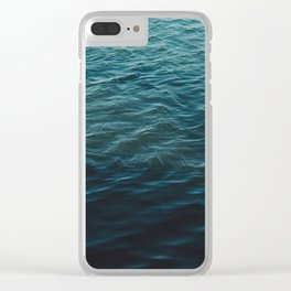 WATER REFLECTION Clear iPhone Case