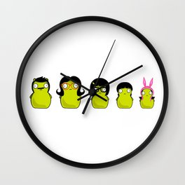 Kuchi Kopi Belchers Wall Clock