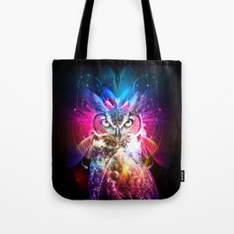 Owl Fighter Tote Bag