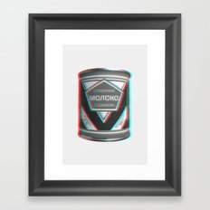 Condensed Milk (Sgushchennoye Moloko)  3D Framed Art Print