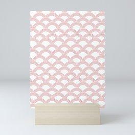Japanese Wave Blush Glam #1 #decor #art #society6 Mini Art Print