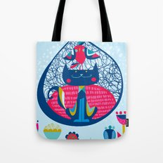HUNGRY CAT & LITTLE BIRDIE Tote Bag