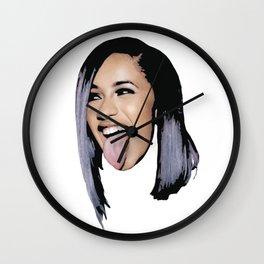 Cardi B Wall Clock