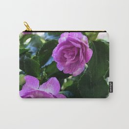 Three Ladies in Purple Carry-All Pouch