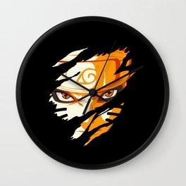 Hero Face Wall Clock