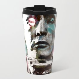 Marlon Brando under brushes effects Travel Mug