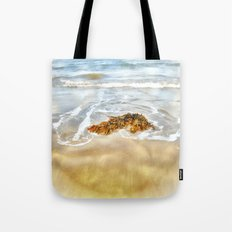 WASHED AWAY TO THE SEA Tote Bag