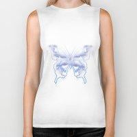 battlestar galactica Biker Tanks featuring Galactica Blue Butterfly by Tiffany 10