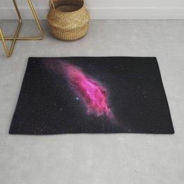 Pink cloud in space Rug