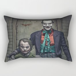 The Jokers in color Rectangular Pillow