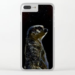 Mercat Clear iPhone Case