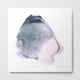 Delicate Swatch : Rose Quartz Metal Print