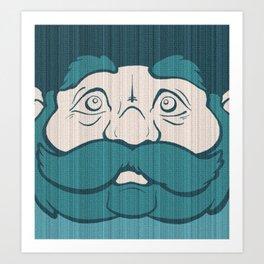 Bluebeard the Unfeigned Art Print