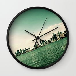Tilted Toronto Wall Clock