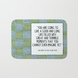 Great and Terrible Moments Bath Mat