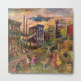 The Edge of City - Bronx by David Burliuk Metal Print