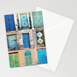Nine Saudi Doors  Stationery Cards