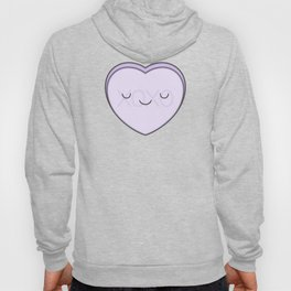 XOXO Candy Heart - Lilac Hoody