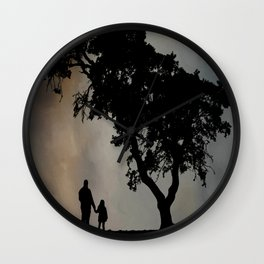 Grandpa Tell Me About The Good Old Days Wall Clock