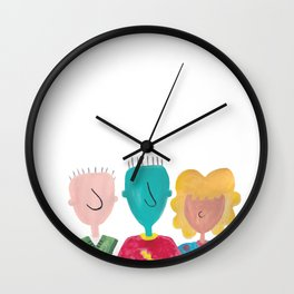 Not Funnie Wall Clock