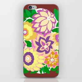 CAMBRIA, ART DECO FLORALS: BOHO SUMMER iPhone Skin